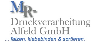 MR – Druckverarbeitung GmbH Logo