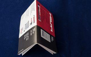 Gebrauchsanweisung, 32 Seiten über 4 Falzwerke