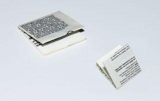 48 Seiten, Format 38 x 35 mm